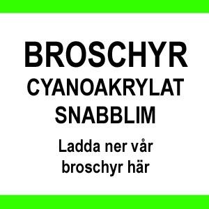 BROSCHYR CYANOAKRYLAT