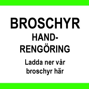 BROSCHYR HANDRENGÖRING