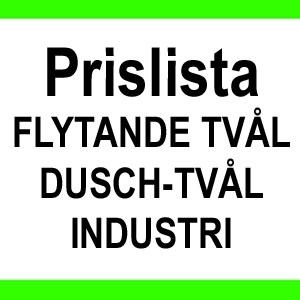 PRISLISTA FLYTANDE TVÅL